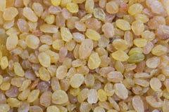 Raisins amarelos dourados Fotografia de Stock