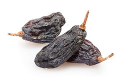 Raisins black group Stock Images