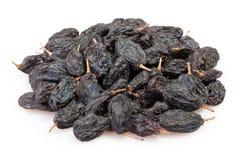 Raisins black heap Stock Photography