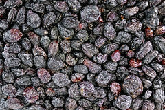Raisins black texture Royalty Free Stock Image