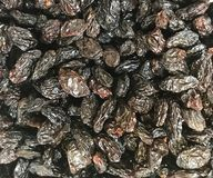 Raisins, California, bulk sales at supermarket. Large size, extremely sweet. picture could be used with menus, store advertisement, and more stock photos