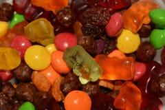 Raisins candy bears Stock Images