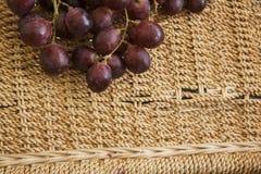 Raisins d'établissement vinicole Photographie stock