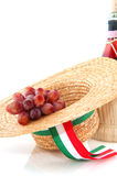 Raisins d'Italie Photos stock
