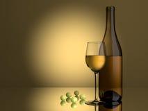 Raisins de cuve blanc Image stock