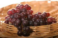 raisins de panier mûrs Images libres de droits