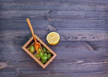 Raisins et citron Images libres de droits