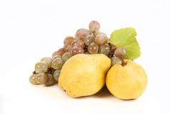 Raisins et fruits Photographie stock libre de droits