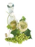 Raisins et vin Photo stock