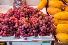 Raisins frais Images stock