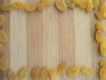 Raisins frame Stock Image