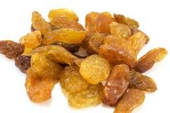 Raisins isolated over white Stock Photo