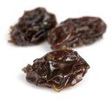 Raisins Isolated on White Stock Photo