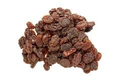 Raisins isolated on white background Royalty Free Stock Image