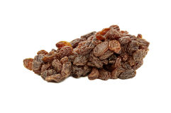 Raisins isolated on white background Royalty Free Stock Images