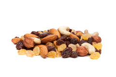 Raisins and nuts Stock Photo