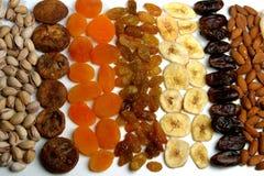 Raisins and nuts Stock Image