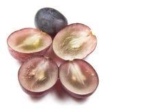 Raisins rouges de globe photographie stock libre de droits