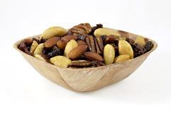 raisins secs de noix de figues d'amandes photo libre de droits