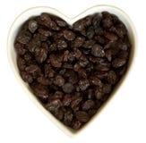 Raisins secs du coeur I Photo stock
