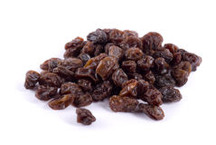 Raisins secs juteux Photos stock