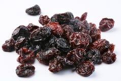 Raisins secs noirs Photographie stock libre de droits