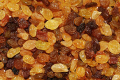 Raisins texture background Stock Photography