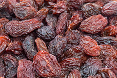 Raisins texture background. Stock Image