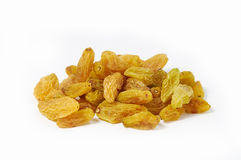 Raisins. On white background Stock Image