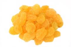Raisins. On a white background Royalty Free Stock Image