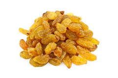 Raisins yellow Royalty Free Stock Image