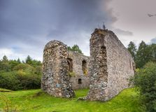 Rait Castle, Scotland royalty free stock photos