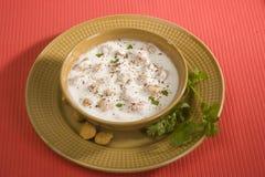 Raita, alimento indiano Fotografie Stock Libere da Diritti