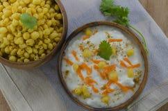 Raita made from yoghurt Stock Images