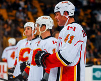 Raitis Ivanans Calgary Flames Royalty Free Stock Images