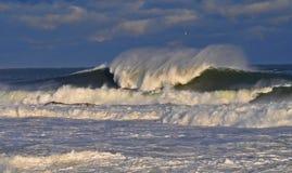 A raiva do oceano Fotografia de Stock