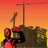 Raiva urbana ilustração royalty free