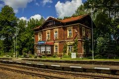 Raiway station Arkivfoto