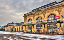 Raiway-Station von Heilig-Würfel-DES-Vosges Lizenzfreies Stockfoto
