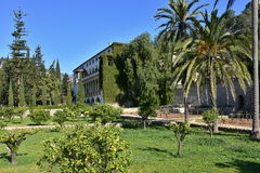 Raixa-garden Majorca Island Royalty Free Stock Photo