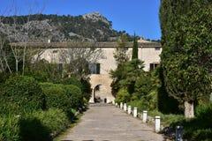 Raixa-garden Majorca Island Stock Image