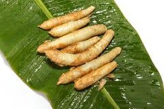 Raizes asiáticas cozinhadas Foto de Stock Royalty Free