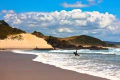 rajów nowi surfingowowie Zealand Zdjęcia Stock