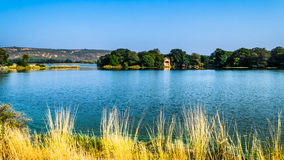 Raj Baug Lake Royalty Free Stock Photography