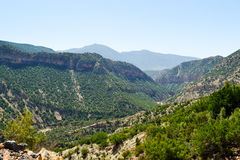 Raj dolina Agadir Fotografia Royalty Free
