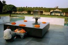 Raj Ghat Lizenzfreie Stockbilder