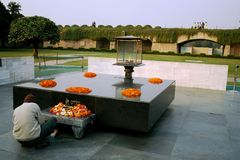 Raj Ghat, Delhi Royalty Free Stock Images