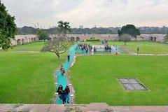 Raj Ghat memorial. Delhi. India Stock Images
