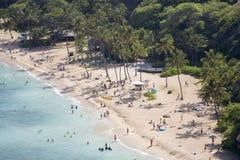 raj h64 tropikalnym plaży Obrazy Royalty Free