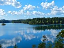 Raj jezioro Obrazy Stock